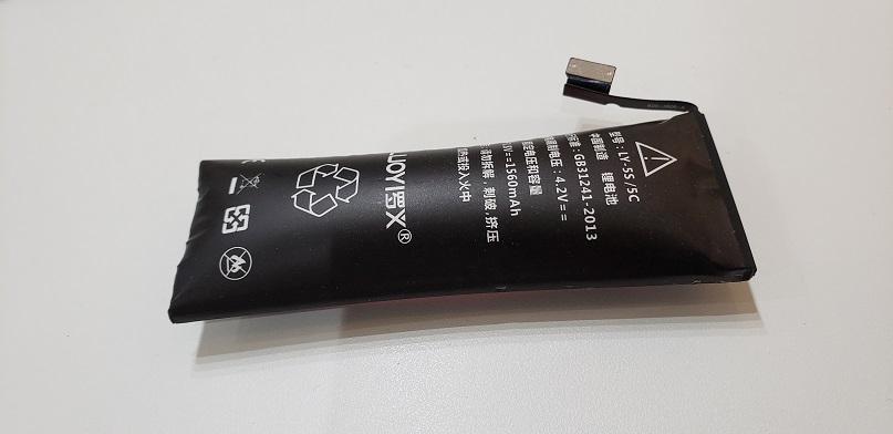 iPhone5s バッテリー交換前