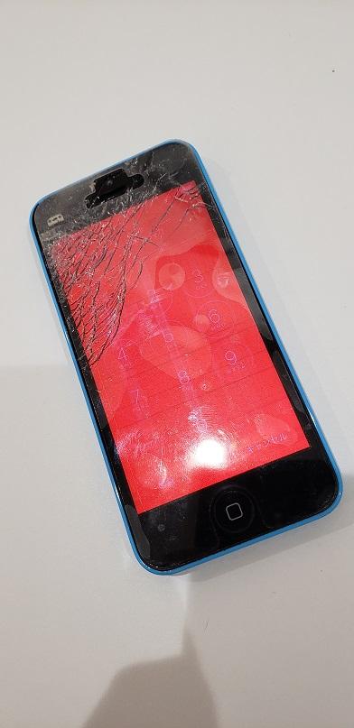 iPhone5c 画面修理前