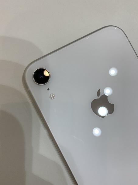 iPhoneXR カメラレンズ割れ 修理後
