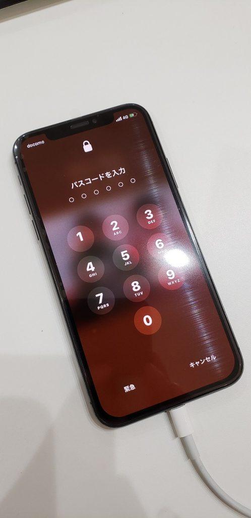 iPhoneXR 液晶不良 交換後