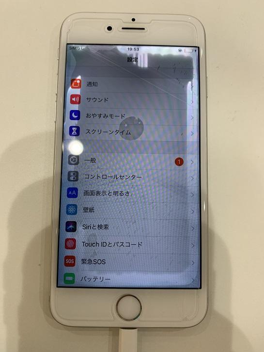 iPhone6s 水没 修理後 操作可能
