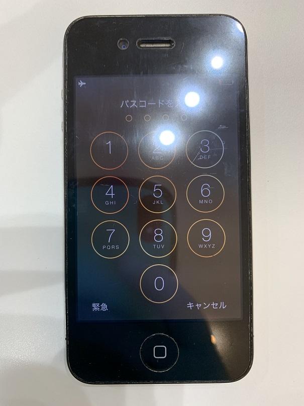 iPhone4 リンゴマーク 起動しない 修理後