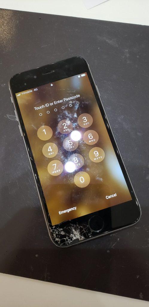 iPhone6s  画面交換修理前
