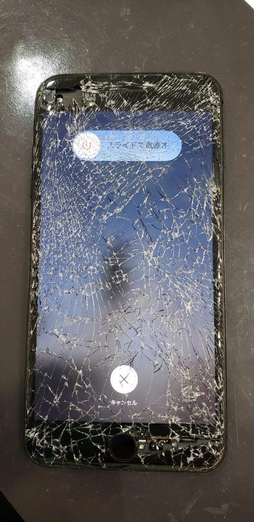 iPhone7Plus 画面交換修理前
