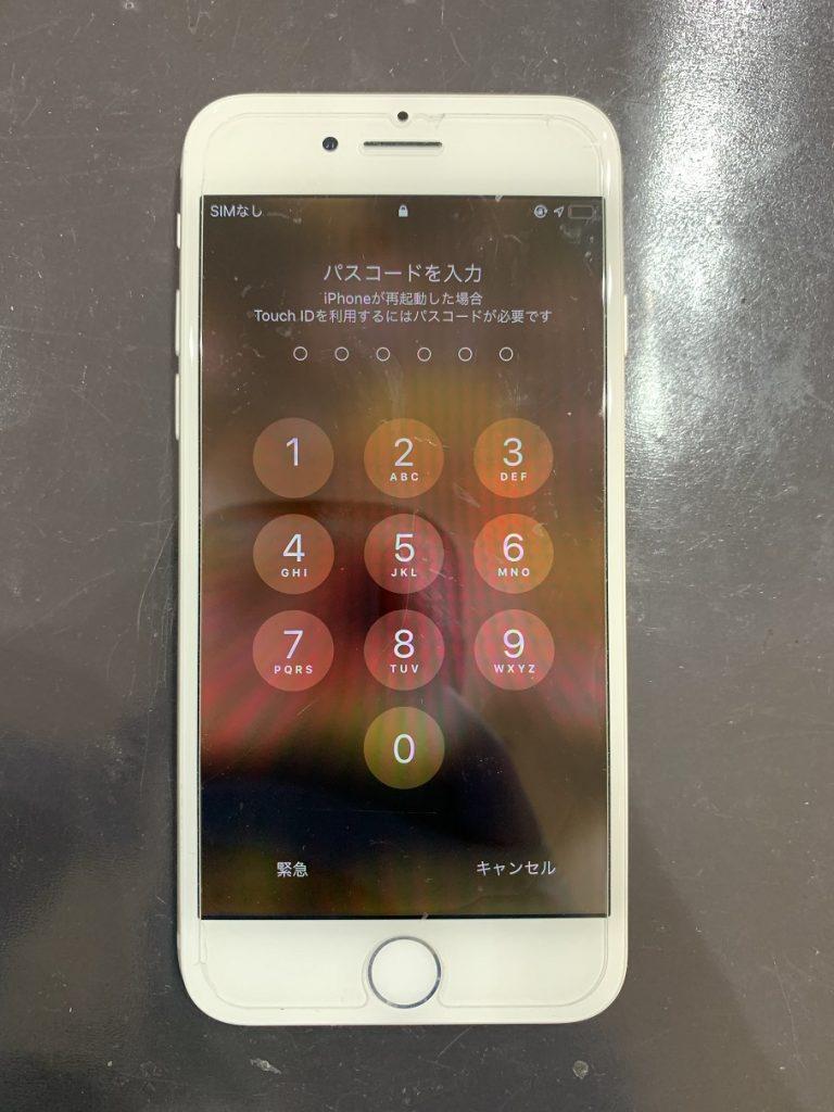 iPhone8 水没 起動しない 修理後