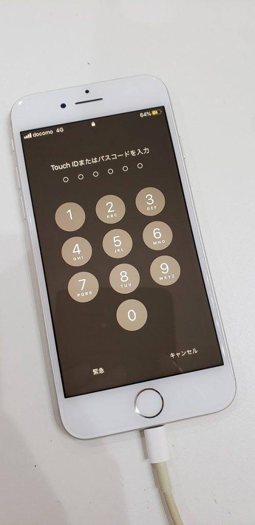 iPhone7 液晶画面交換後