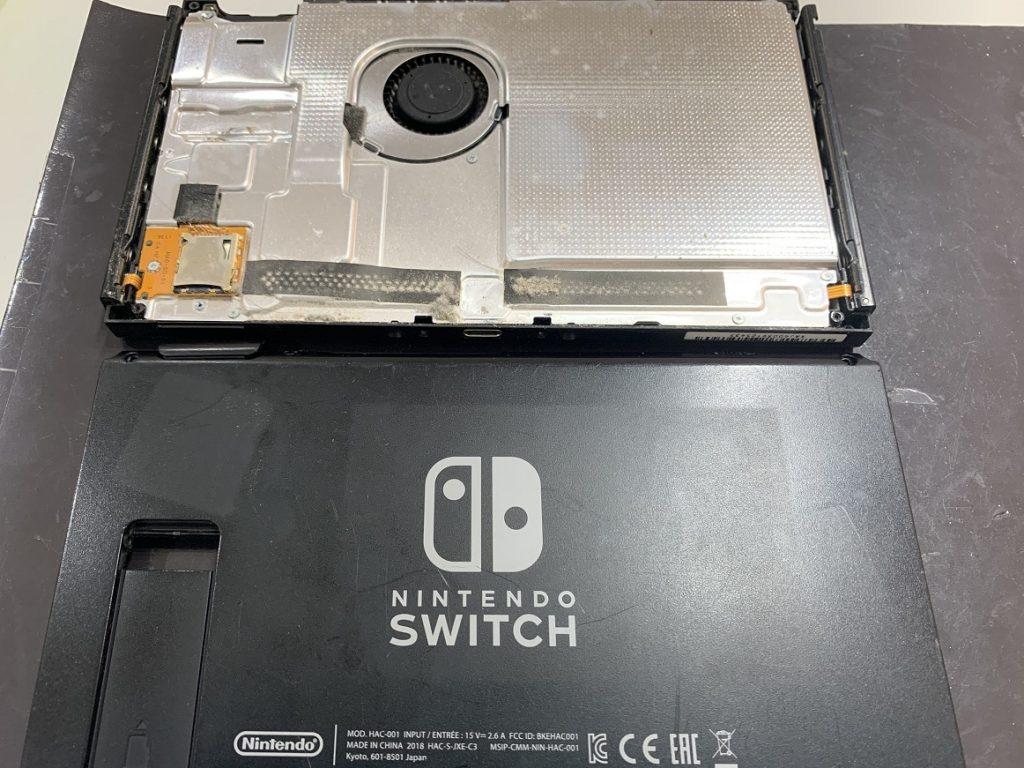 switch ハウジング 分解完了