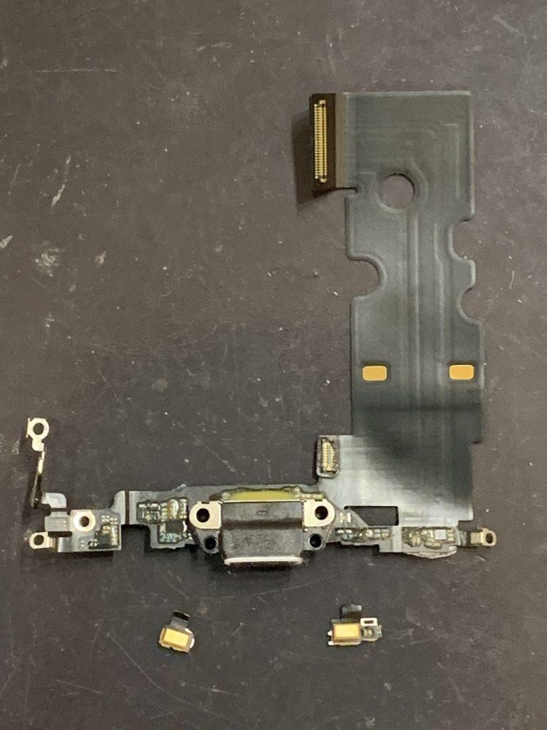 iPhone8 ドックコネクター マイク断線