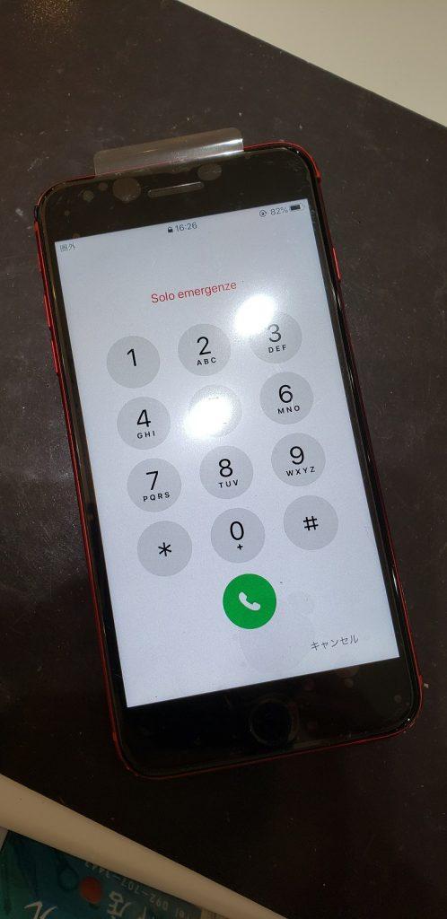 iPhone8Plus 液晶画面交換後