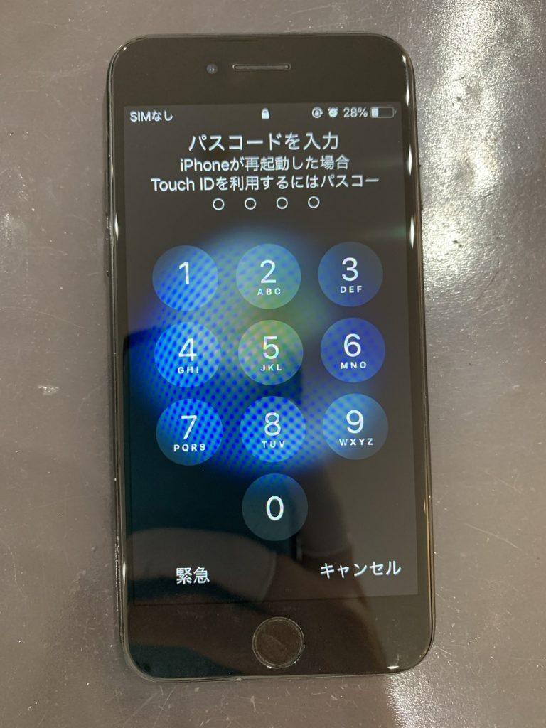 iPhone7 画面修理 完了
