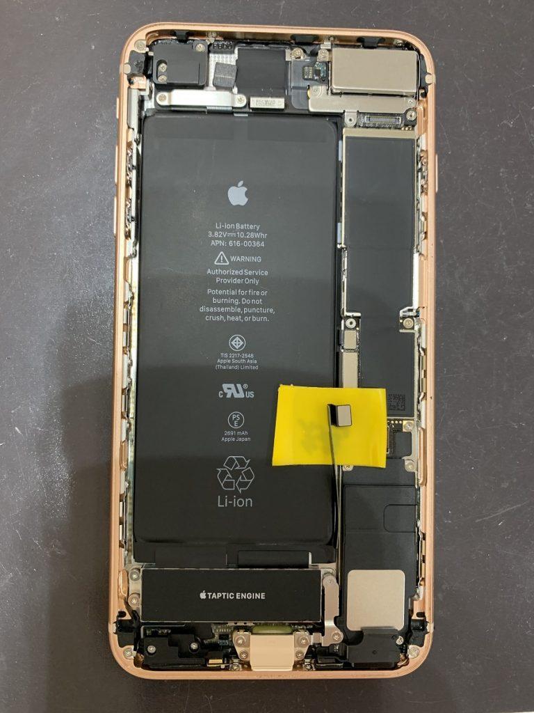 iPhone8Plus  分解 画面取り外し
