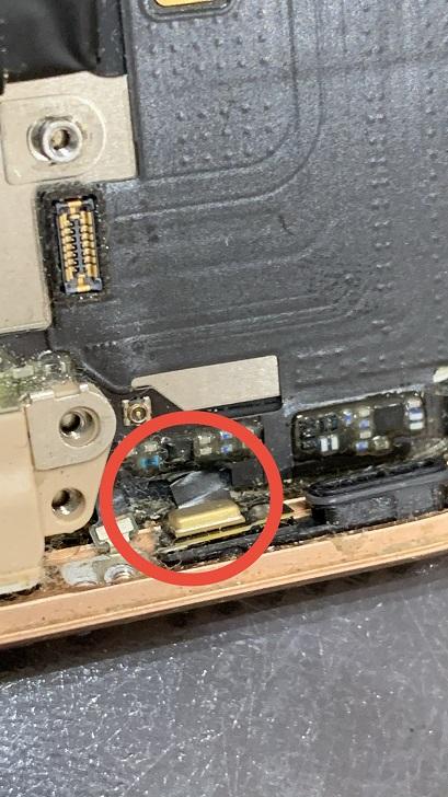 iPhone8 マイク確認 断線
