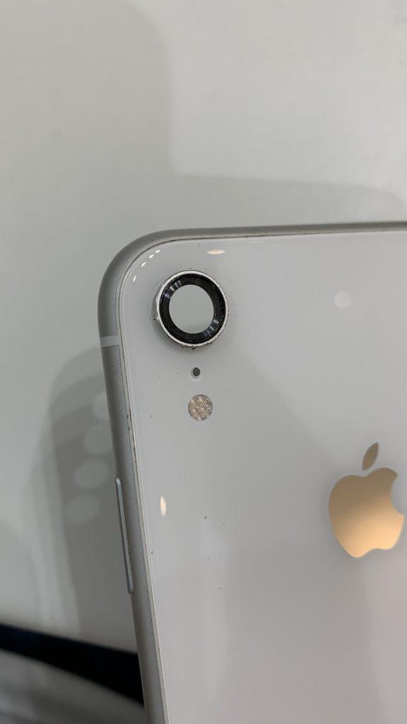 iPhoneXR レンズ取り外し