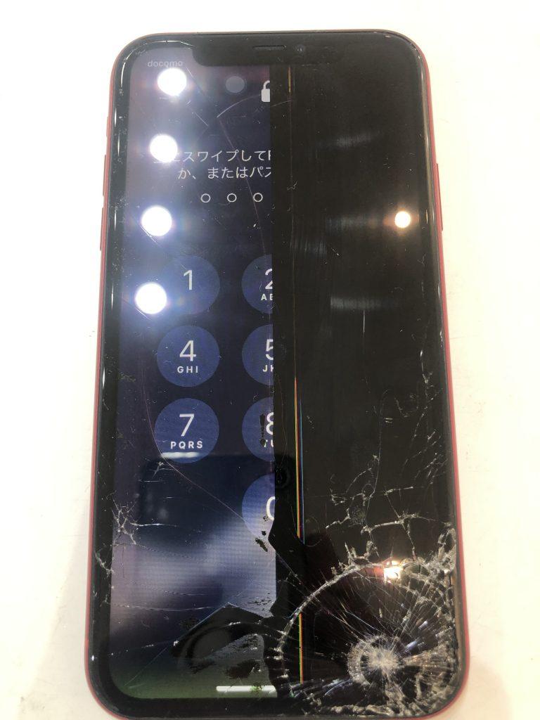 iPhone11 液晶交換修理前