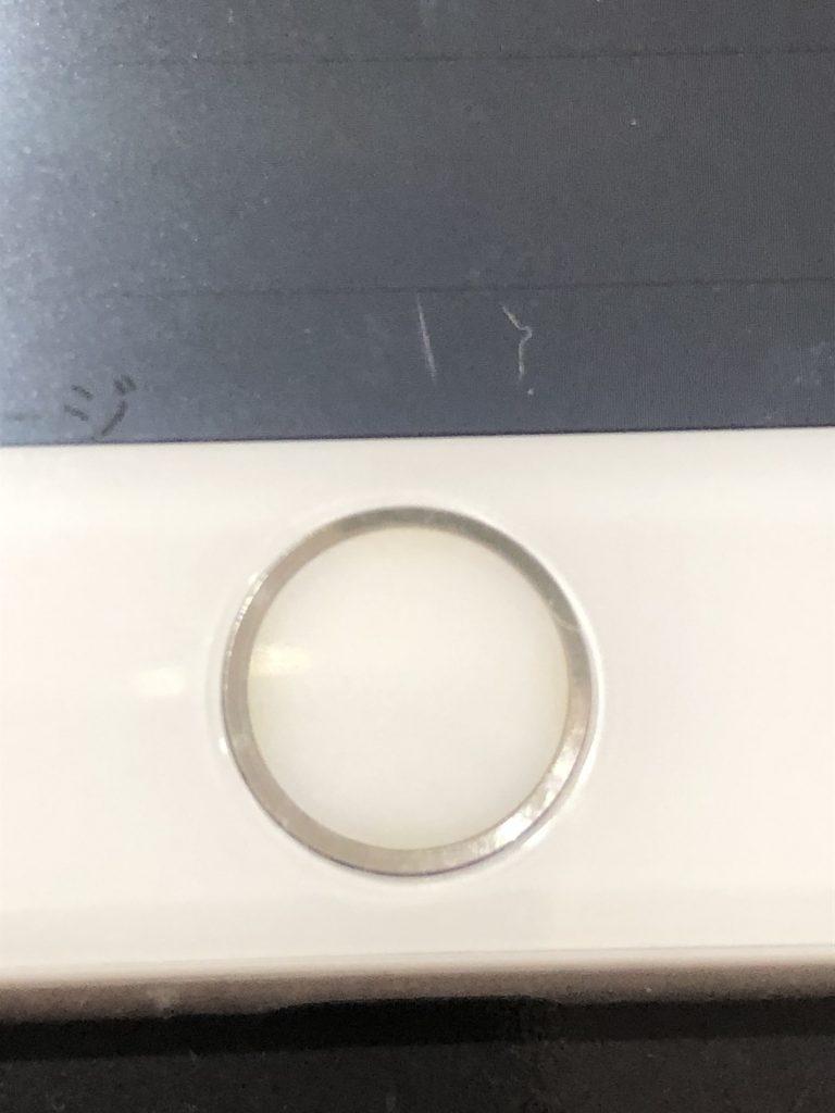 iPhone7画面割れ修理後 ホームボタン