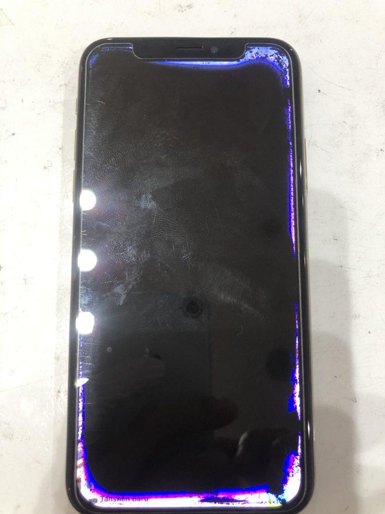 iPhoneXS 液晶交換修理前