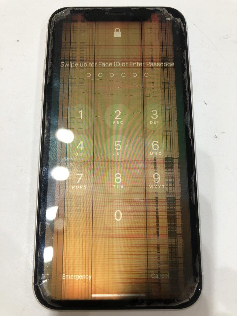 iPhoneXR 液晶交換前