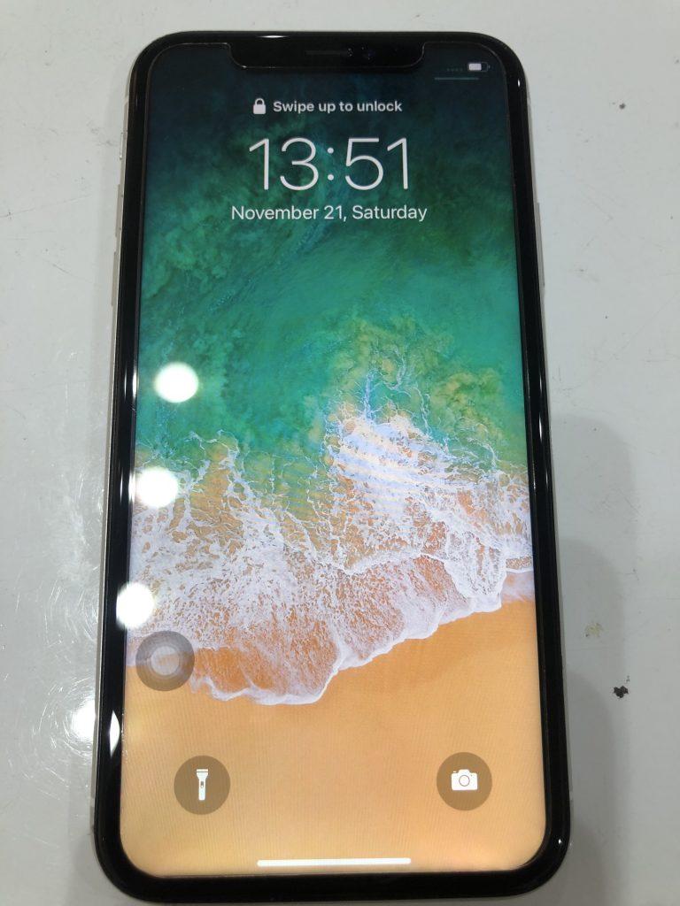 iPhoneXR 液晶交換後