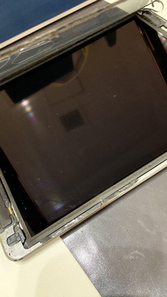 iPadAir 分解 ガラス取り外し