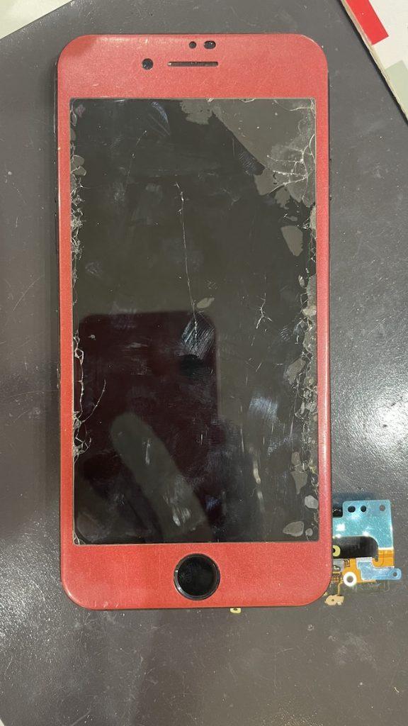 iPhone7 ドックコネクター 仮付
