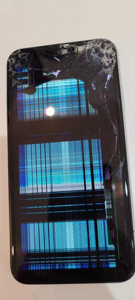 iPhoneXR 液晶不良修理前