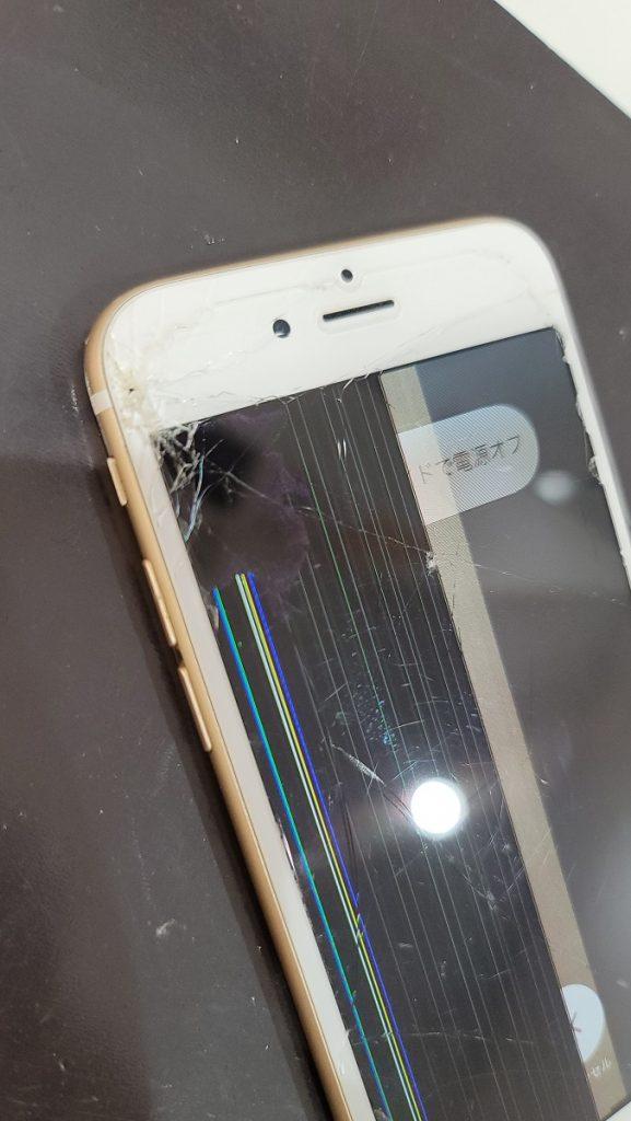 iPhone6s ヒビ