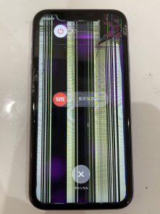 iPhone11 液晶表示不良