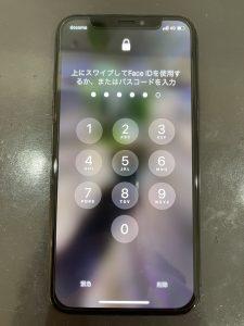 iPhoneX 修理後