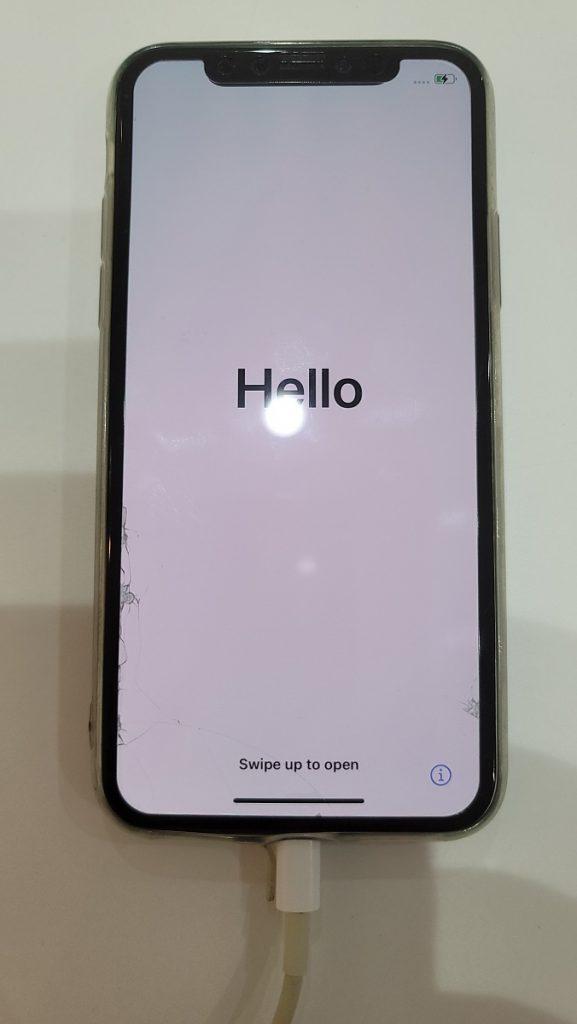 iPhoneXS 初期化