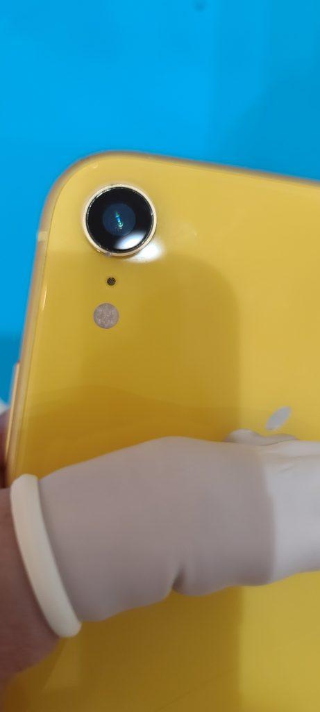 iPhoneXR レンズ割れ修理後