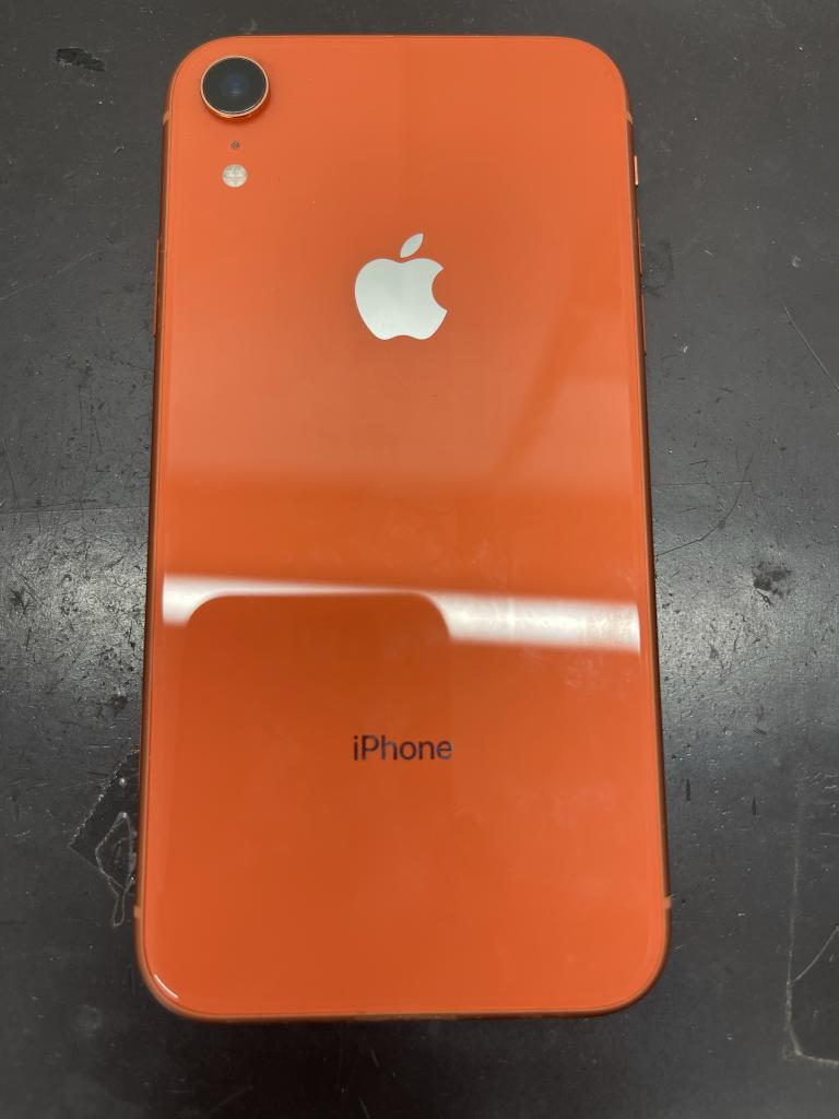 iPhoneXR 画面背面
