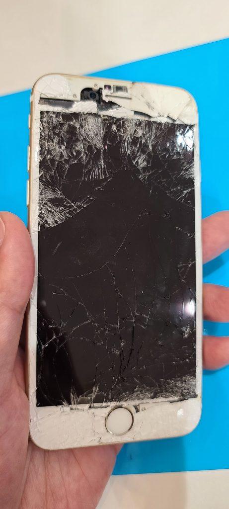 iPhone6 画面修理前
