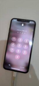 iPhoneXS 画面修理後