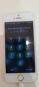iPhone5s 画面修理後