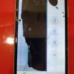 横線、縦線、液漏れ(インク漏れ)全ての症状が現れたiPhoneを即日修理!