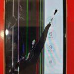 液漏れで左半分が見えなくなった!iPhone11を安く修理するならスマップル天神店!