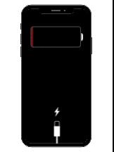 iPhoneバッテリー切れ